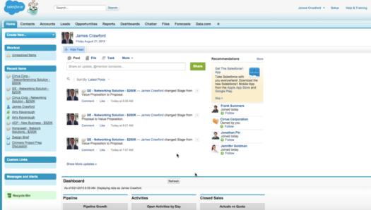 Classic UI - Salesforce
