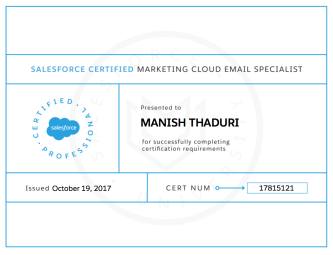 marketing cloud email specialist certification sfdcfanboy