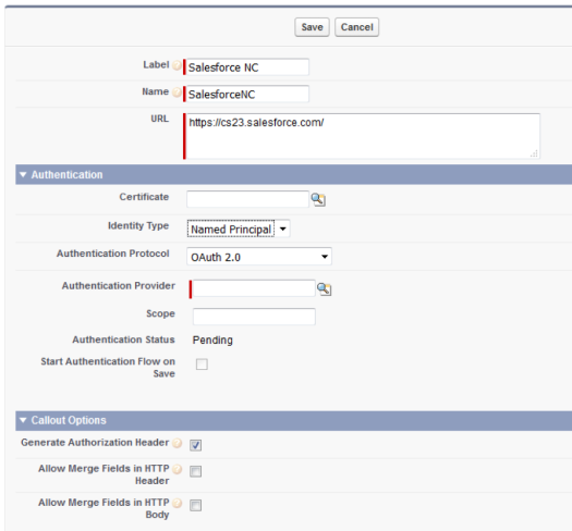 named credential salesforce oauth 2.0 sfdcfanboy