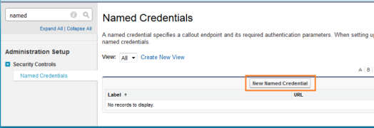 named credentials code salesforce sfdcfanboy