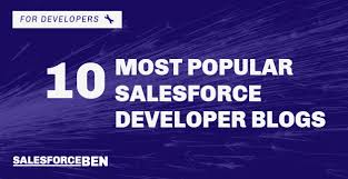 Top 10 Salesforce Developer Blogs