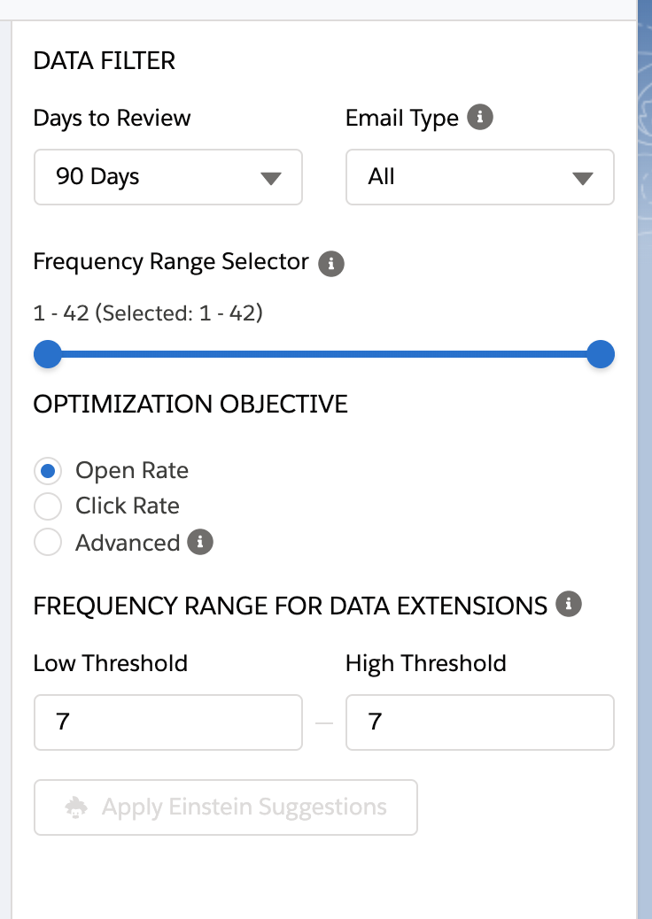 einstein engagement frequency sfdcfanboy 3 data filters